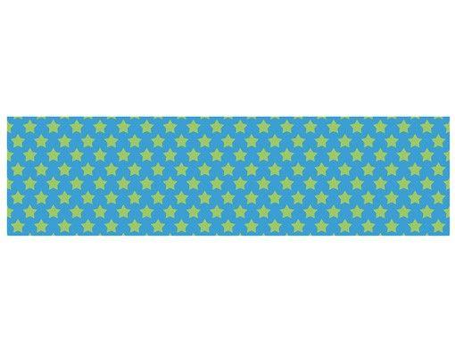 Hängelampe - Sterndesign Grün