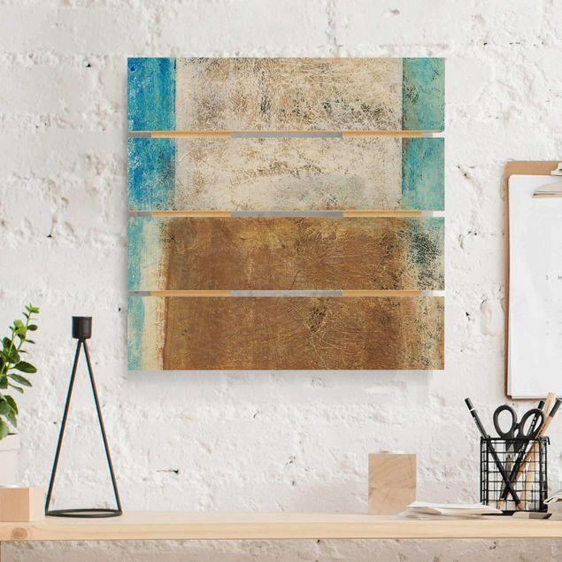 Holzbild - Elements of Life - Quadrat 1:1