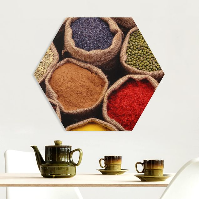 Hexagon Bild Forex - Colourful Spices