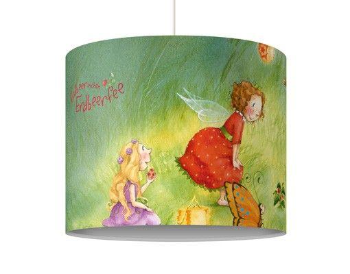 Hängelampe - Erdbeerinchen Erdbeerfee - Laternen