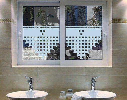 Fensterfolie - Sichtschutzfolie No.UL1057 Geklöppelt I - Milchglasfolie