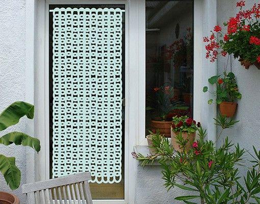 Fensterfolie - Sichtschutzfolie No.1059 Grob Gestrickt III - Milchglasfolie