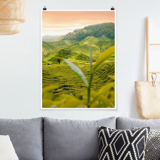 Poster - Teagarden - Hochformat 3:4