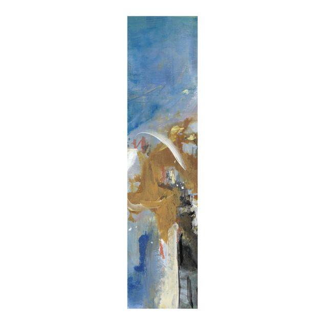 Schiebegardinen Set - Wechselspiel Abstrakt II - Flächenvorhang