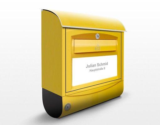 Briefkasten mit Wunschtext - Briefkasten in der Schweiz - mit eigenem Text & Hausnummer