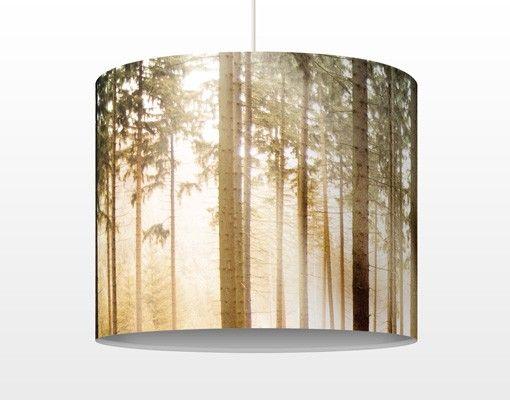 Hängelampe - Morning Forest