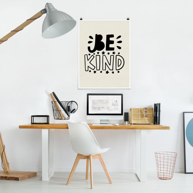 Poster - Be kind - Hochformat 3:4