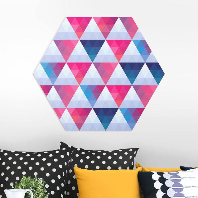 Hexagon Bild Forex - Triangle Muster Design