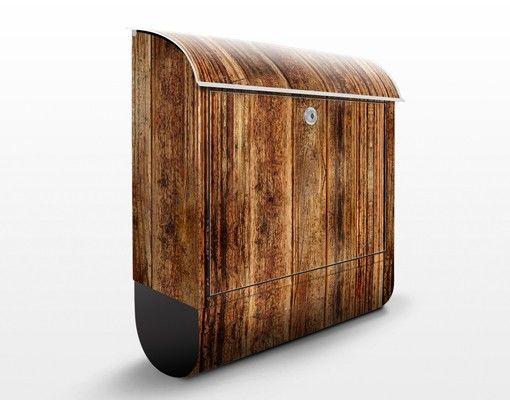 Briefkasten Holz - Holzhütte - Wandbriefkasten