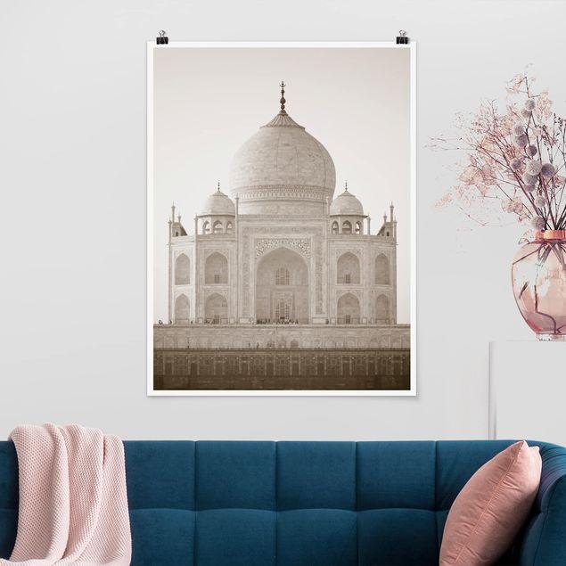 Poster - Taj Mahal - Hochformat 3:4