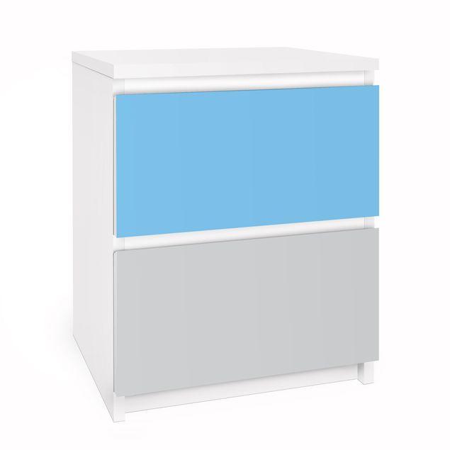 Möbelfolie für IKEA Malm Kommode - Selbstklebefolie Set Pastell