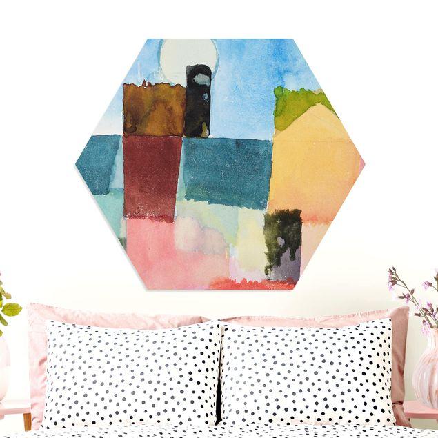 Hexagon Bild Forex - Paul Klee - Mondaufgang