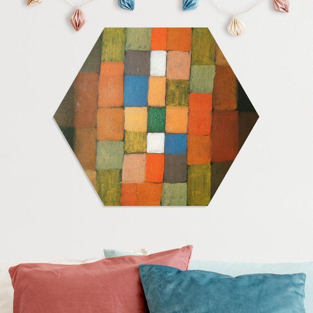 Hexagon Bild Forex - Paul Klee - Steigerung