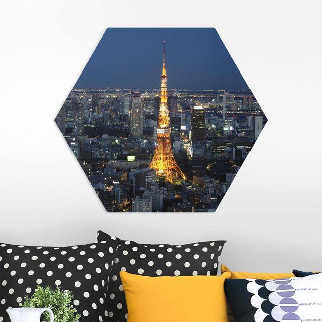 Hexagon Bild Forex - Tokyo Tower