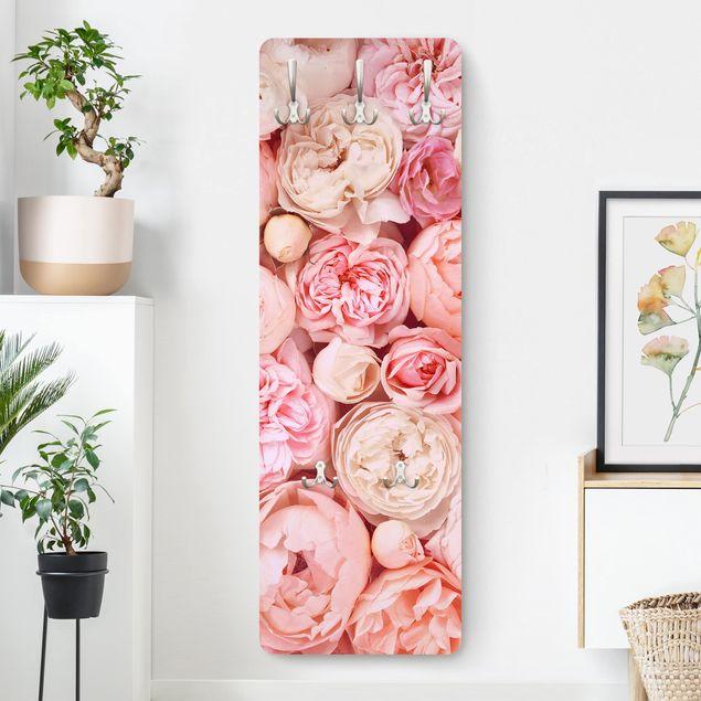 Garderobe - Rosen Rosé Koralle Shabby
