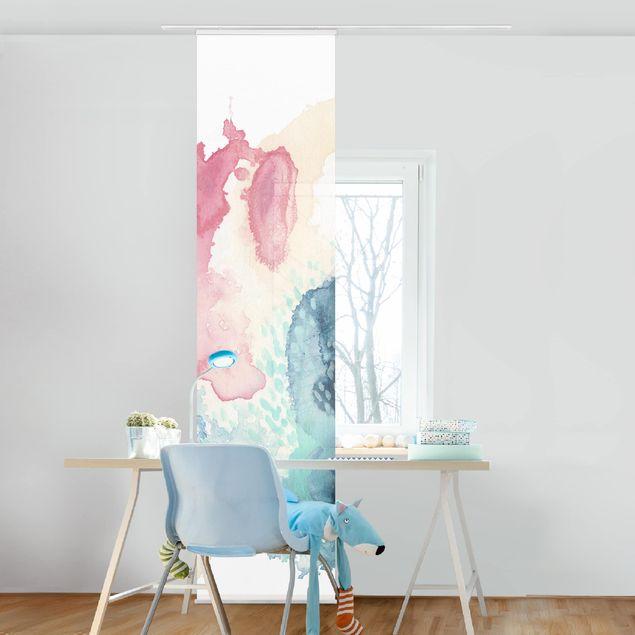 Schiebegardinen Set - Intrige I - Flächenvorhang