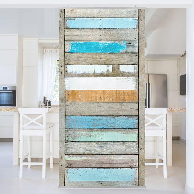 Raumteiler - Shelves of the Sea 250x120cm