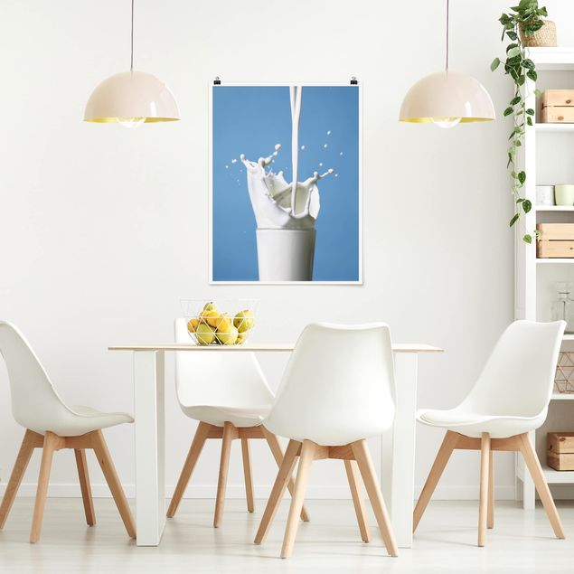 Poster - Milk - Hochformat 3:4