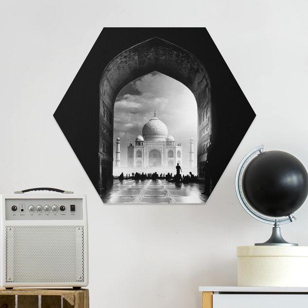 Hexagon Bild Forex - Das Tor zum Taj Mahal