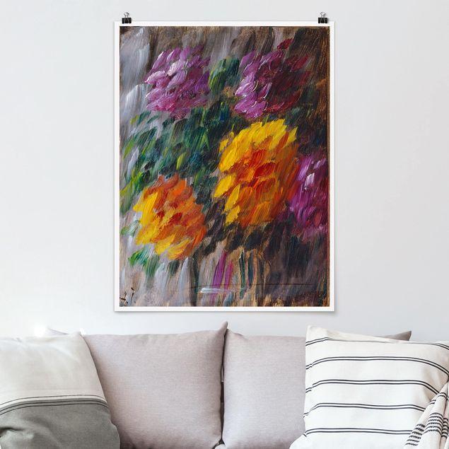 Poster - Alexej von Jawlensky - Chrysanthemen im Sturm - Hochformat 3:4