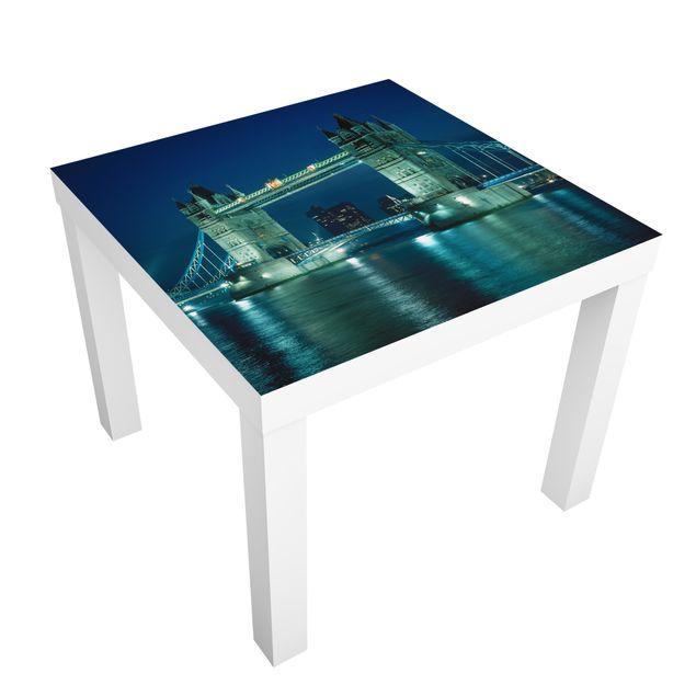 Möbelfolie für IKEA Lack - Klebefolie Tower Bridge