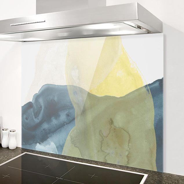Glas Spritzschutz - Ozean und Wüste III - Querformat - 4:3