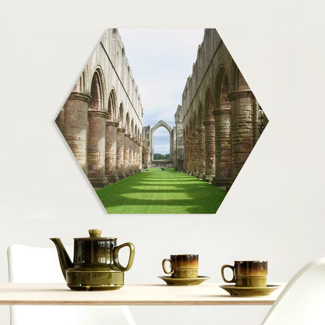 Hexagon Bild Forex - Fountains Abbey