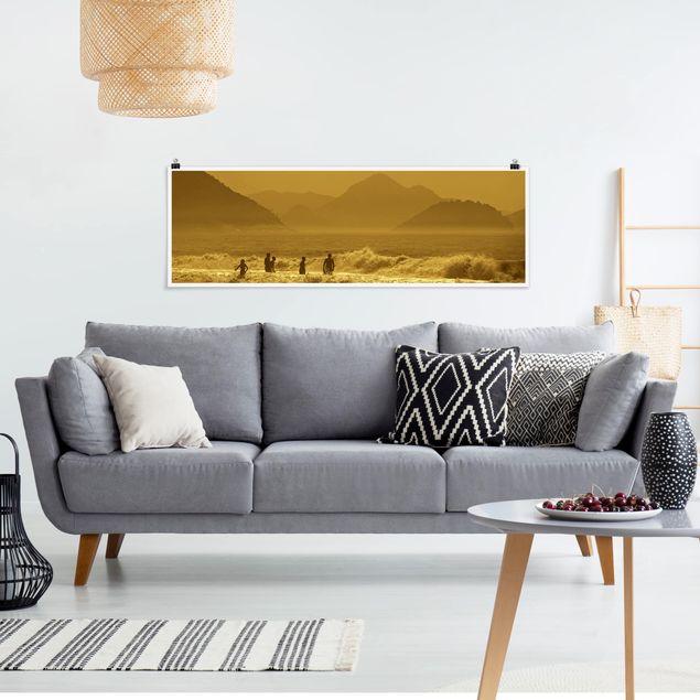 Poster - Goldküste - Panorama Querformat