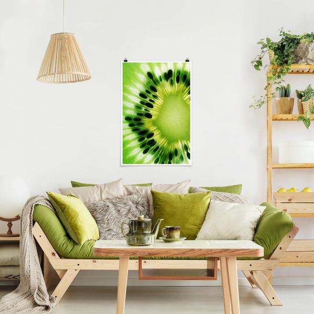 Poster - Shining Kiwi - Hochformat 3:2