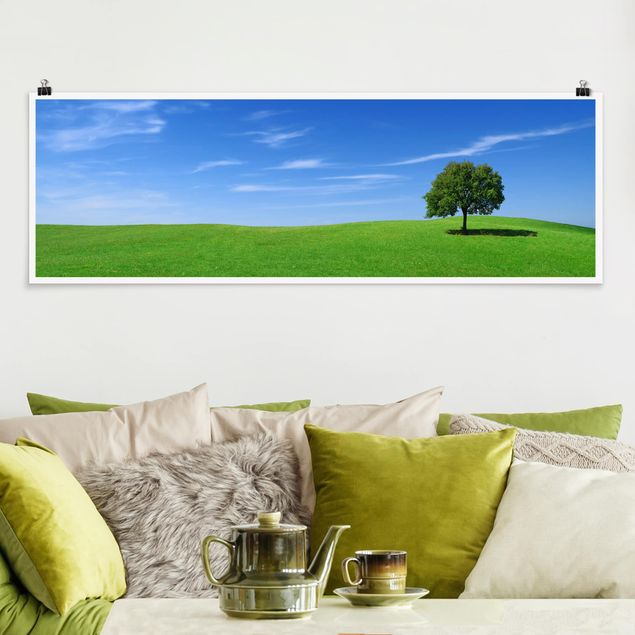 Poster - Relaxation - Panorama Querformat
