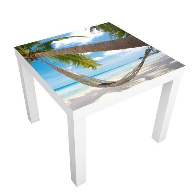 Möbelfolie für IKEA Lack - Klebefolie Relaxing Day