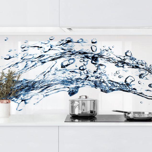 Küchenrückwand - Water Splash