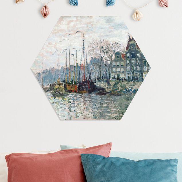 Hexagon Bild Forex - Claude Monet - Kromme Waal Amsterdam