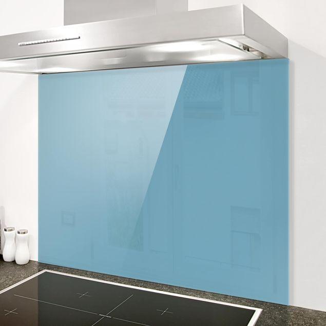 Glas Spritzschutz - Meerblau - Querformat - 4:3