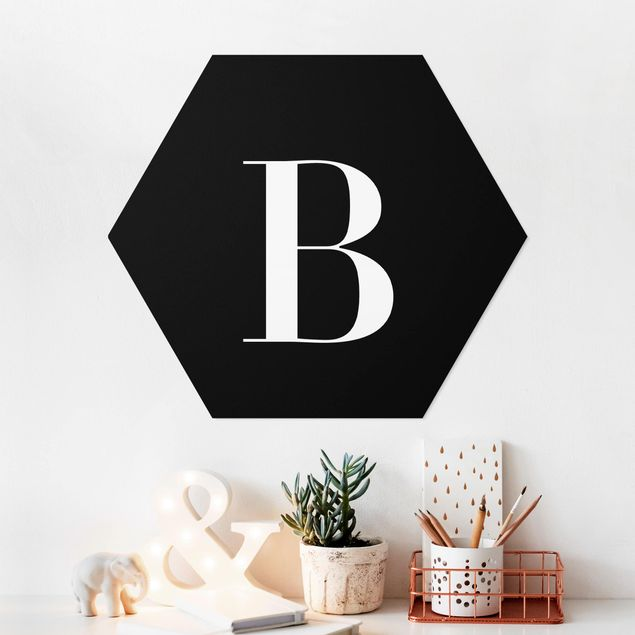 Hexagon Bild Forex - Buchstabe Serif Schwarz B