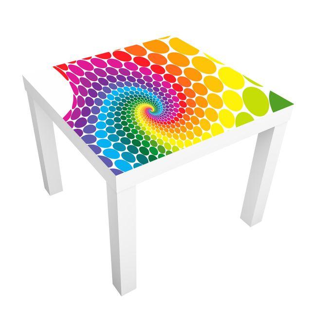 Möbelfolie für IKEA Lack - Klebefolie Magic Points