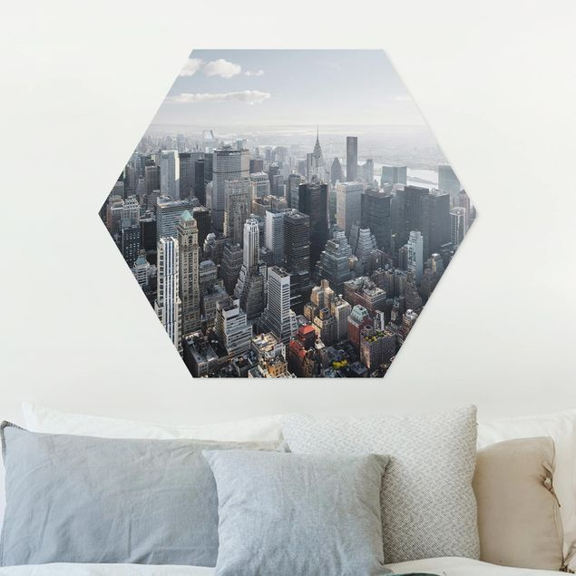Hexagon Bild Forex - Upper Manhattan New York City