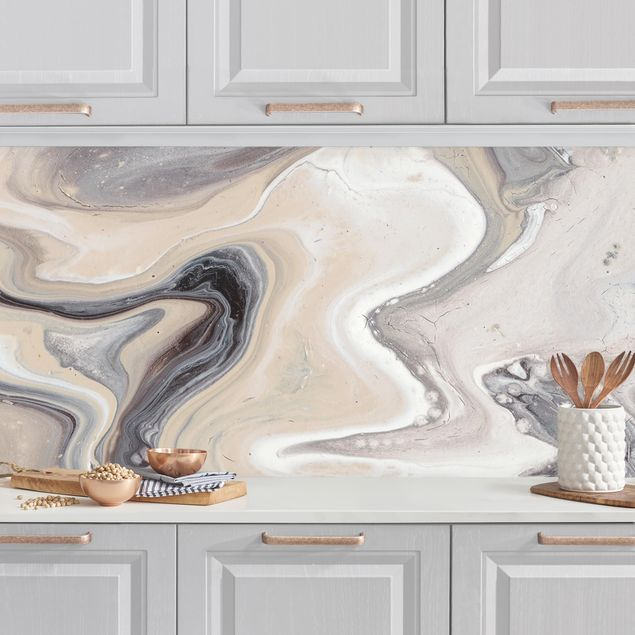 Küchenrückwand - Gesteinsschmelze II