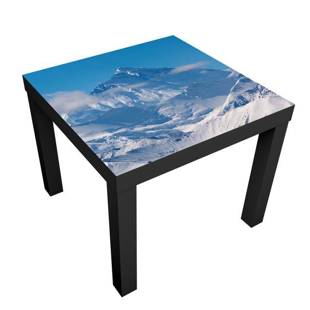 Möbelfolie für IKEA Lack - Klebefolie Mount Everest