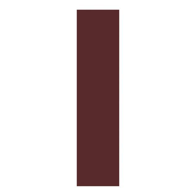 Schiebegardinen Set - Burgund - Flächenvorhänge