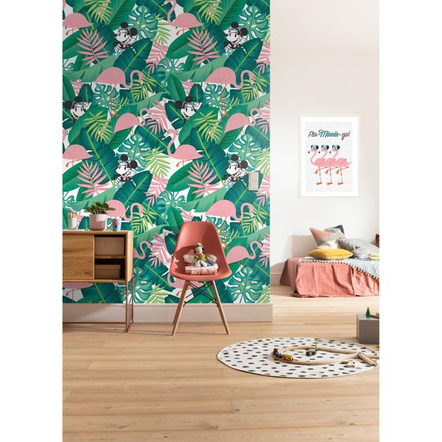 Disney Kindertapete - Minnie Tropical - Komar Fototapete