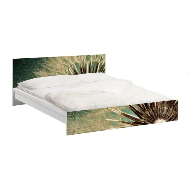 Möbelfolie für IKEA Malm Bett niedrig 160x200cm - Klebefolie No.30 Closer than before