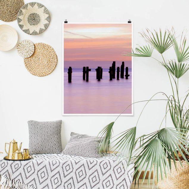 Poster - Meeresromantik - Hochformat 3:4