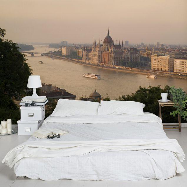 Fototapete Budapest Skyline