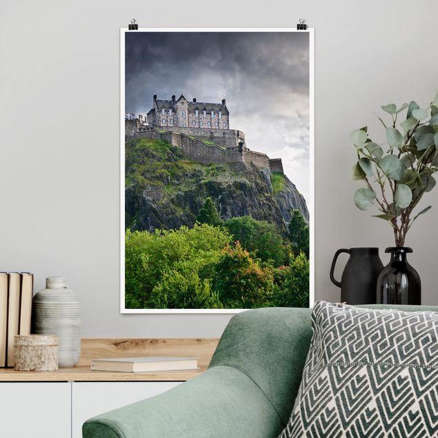 Poster - Edinburgh Castle - Hochformat 3:2