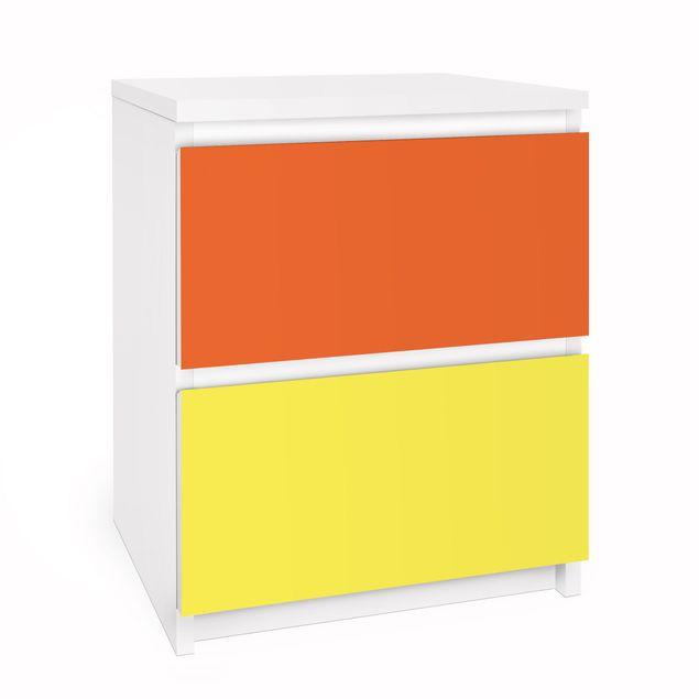 Möbelfolie für IKEA Malm Kommode - Selbstklebefolie Set Sommer