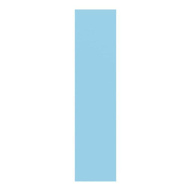 Schiebegardinen Set - Pastellblau - Flächenvorhänge