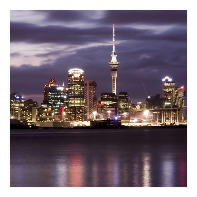 Fototapete Auckland bei Nacht