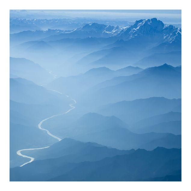 Fototapete Blick über den Himalaya