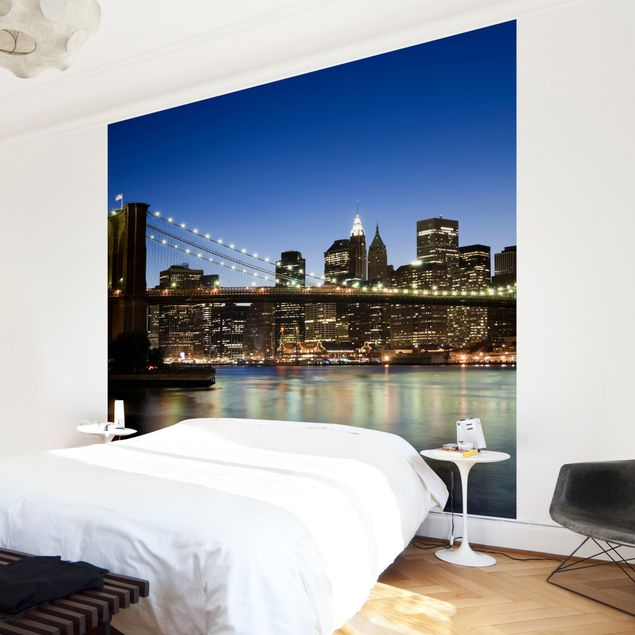 Fototapete Brooklyn Brücke in New York